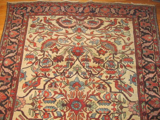 25002 Antique Malayer Mishan rug 4,3 x 5,9 -1