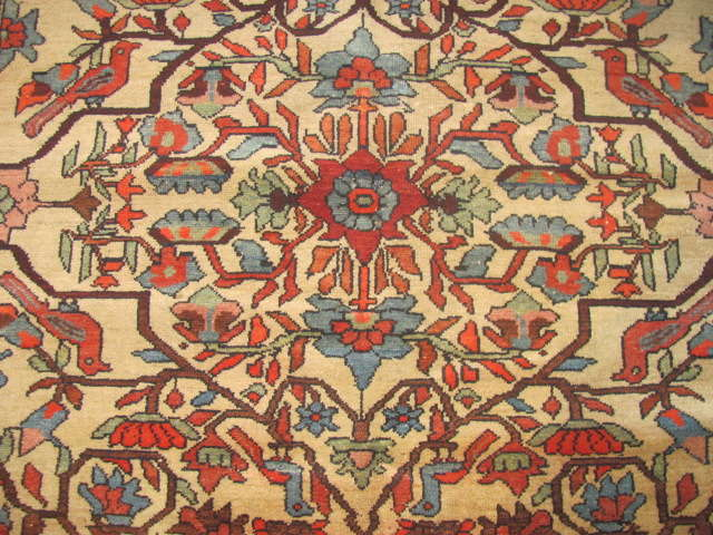 25002 Antique Malayer Mishan rug 4,3 x 5,9 -2