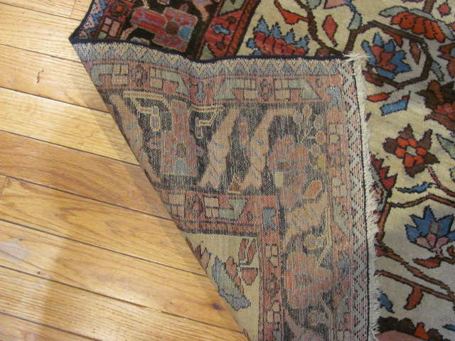 25002 Antique Malayer Mishan rug 4,3 x 5,9 -3