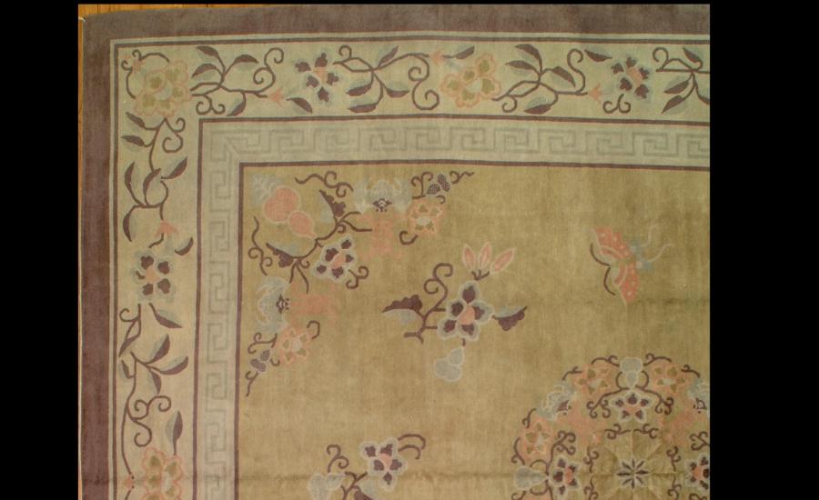 25044 Chinese Mandarin carpet 11,4 x 12,10-1