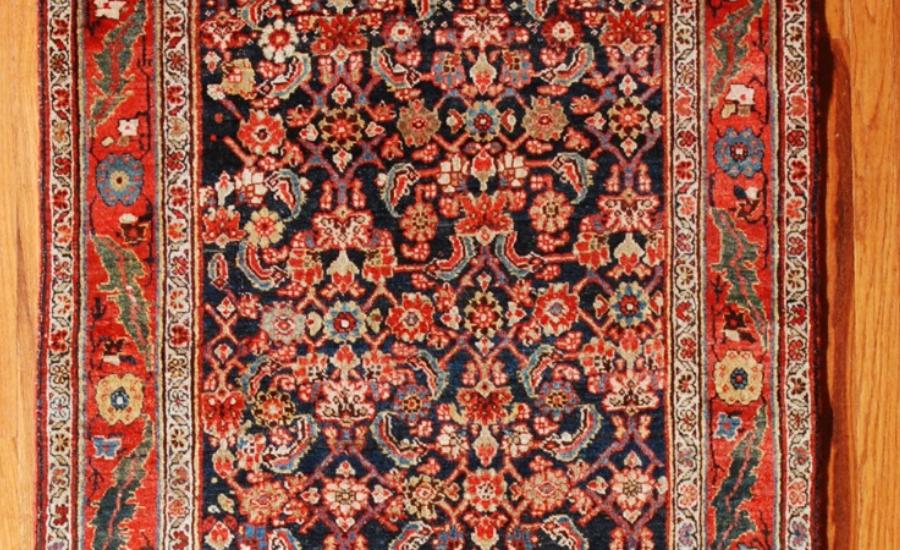 25045 Persian Bidjar hall runner 3,4 x 14,8-1