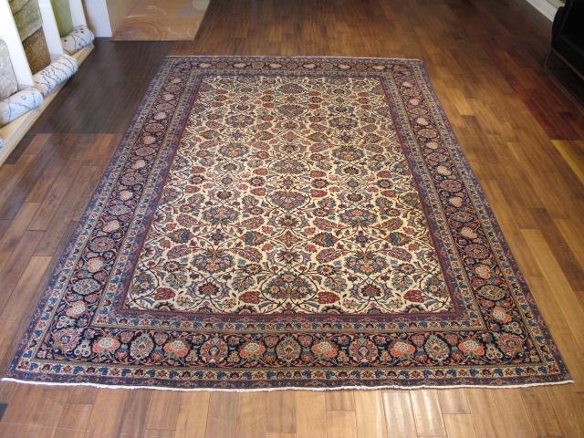 13120 Persian Kashan rug 8,6 x 11,10 (1)