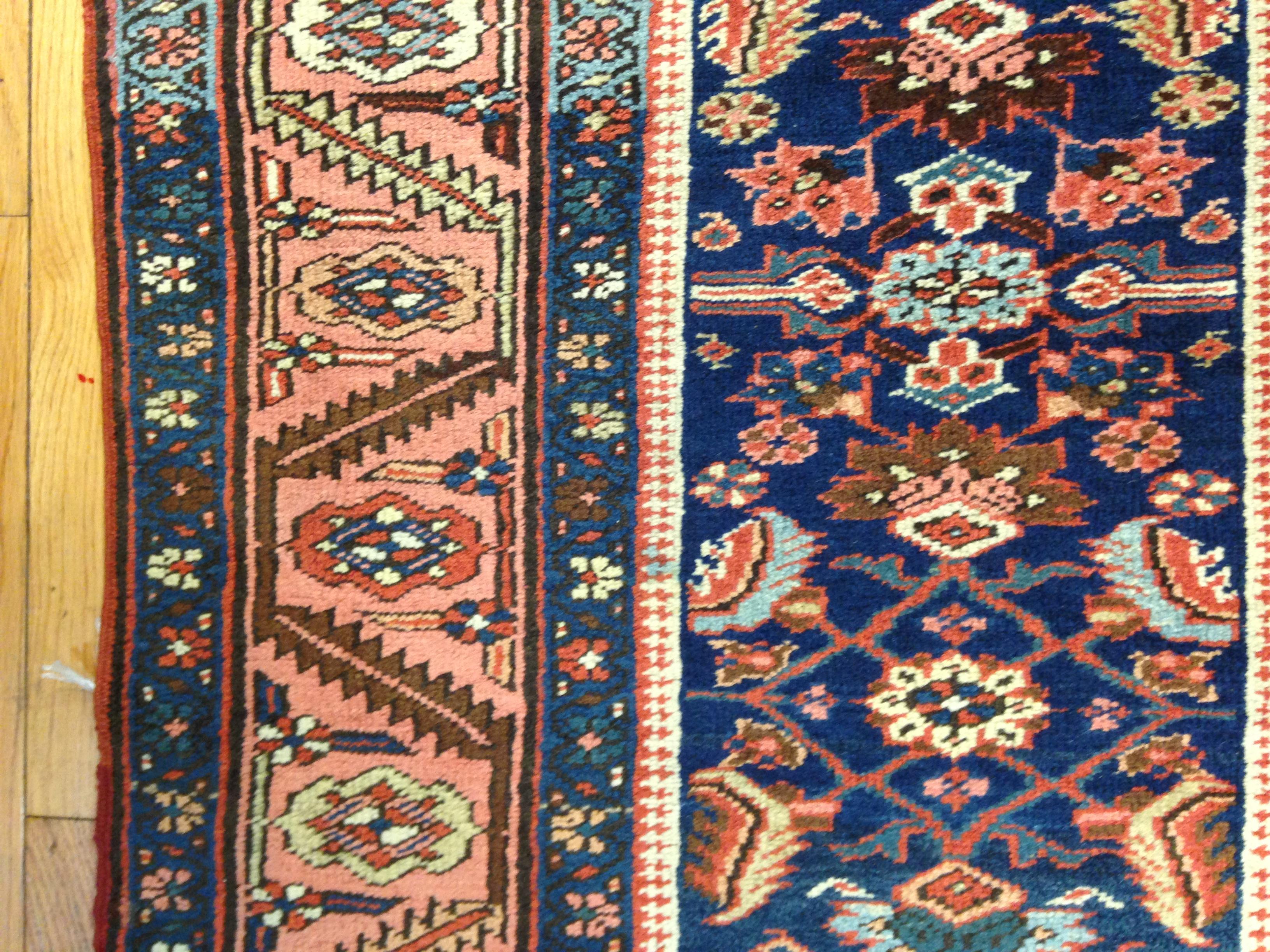 25052 antique Persian Bakshaish runner 3,2 x 17,4 -1