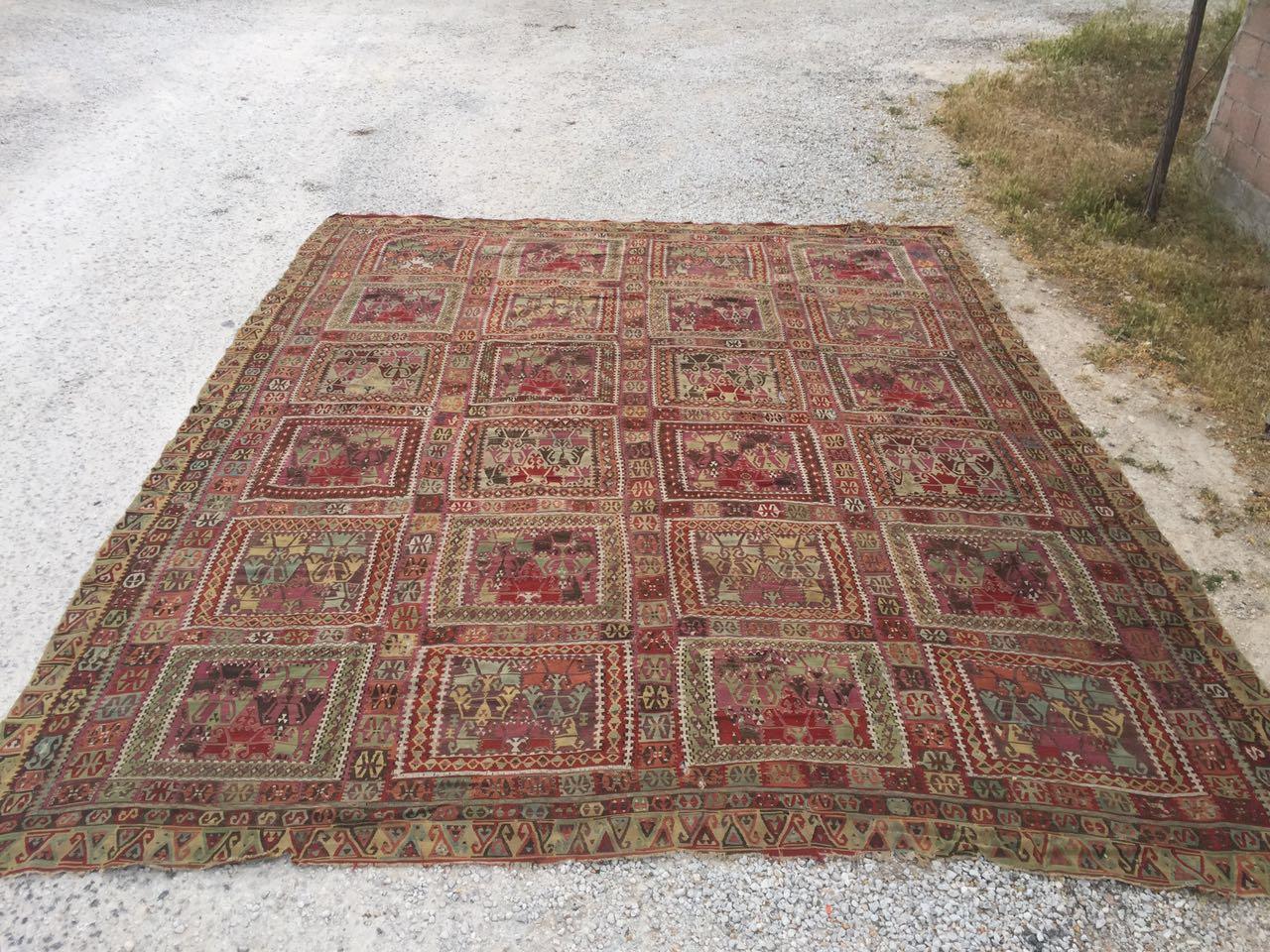 13125 Antique Anatolian kilim rug (10)