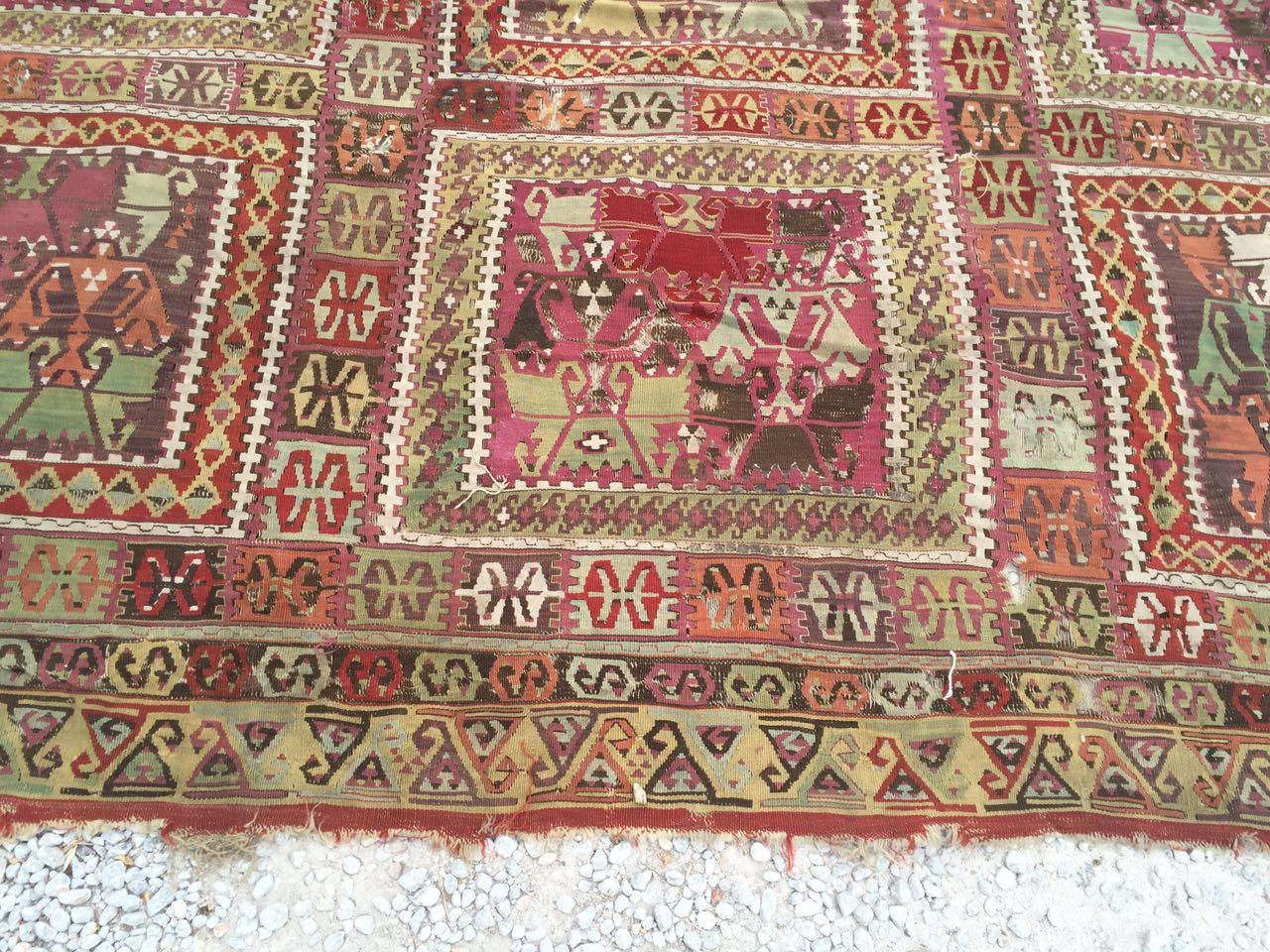 13125 Antique Anatolian kilim rug (3)
