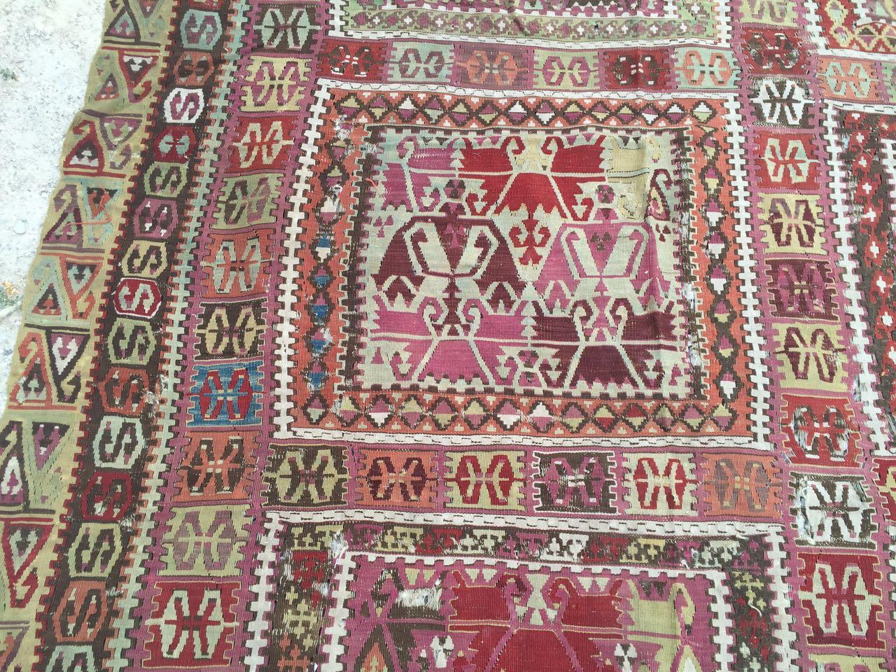 13125 Antique Anatolian kilim rug (6)