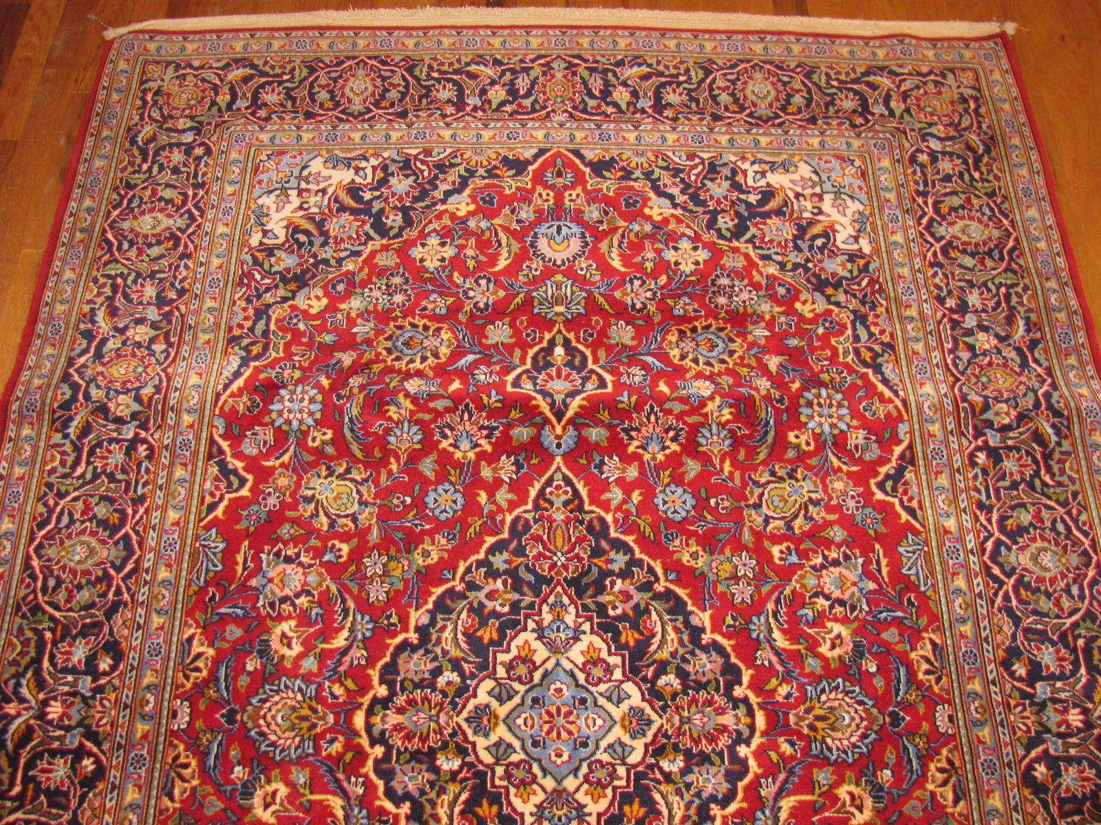 25053 Persian Kashan rug 4,2 x6,9-1
