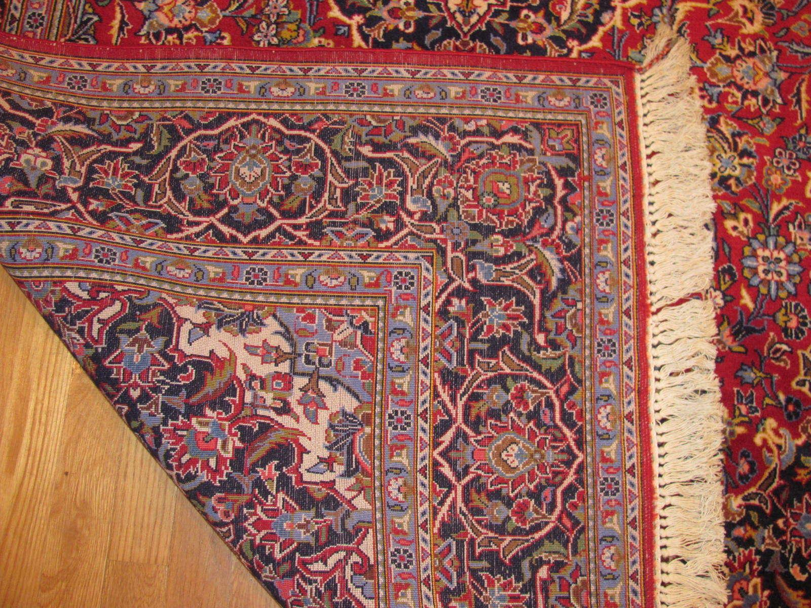 25053 Persian Kashan rug 4,2 x6,9-2