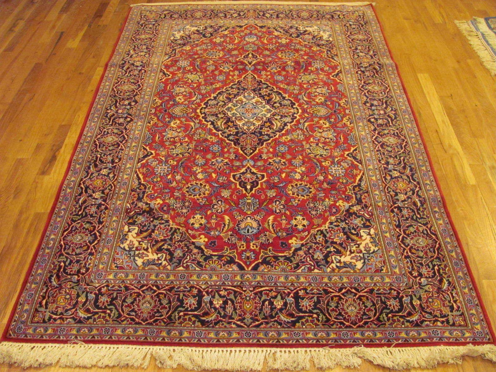 25053 Persian Kashan rug 4,2 x6,9