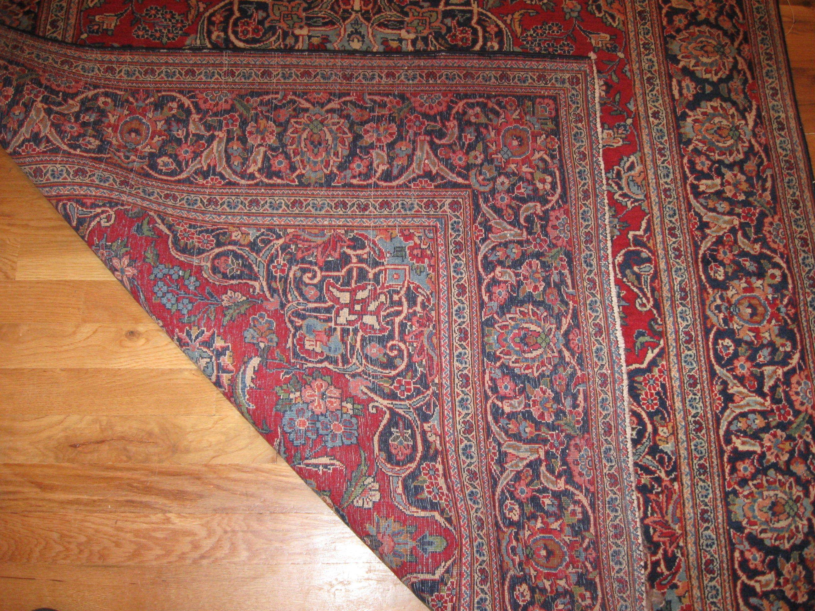 25054 Persian Kashan rug 4,2 x 6,7-1