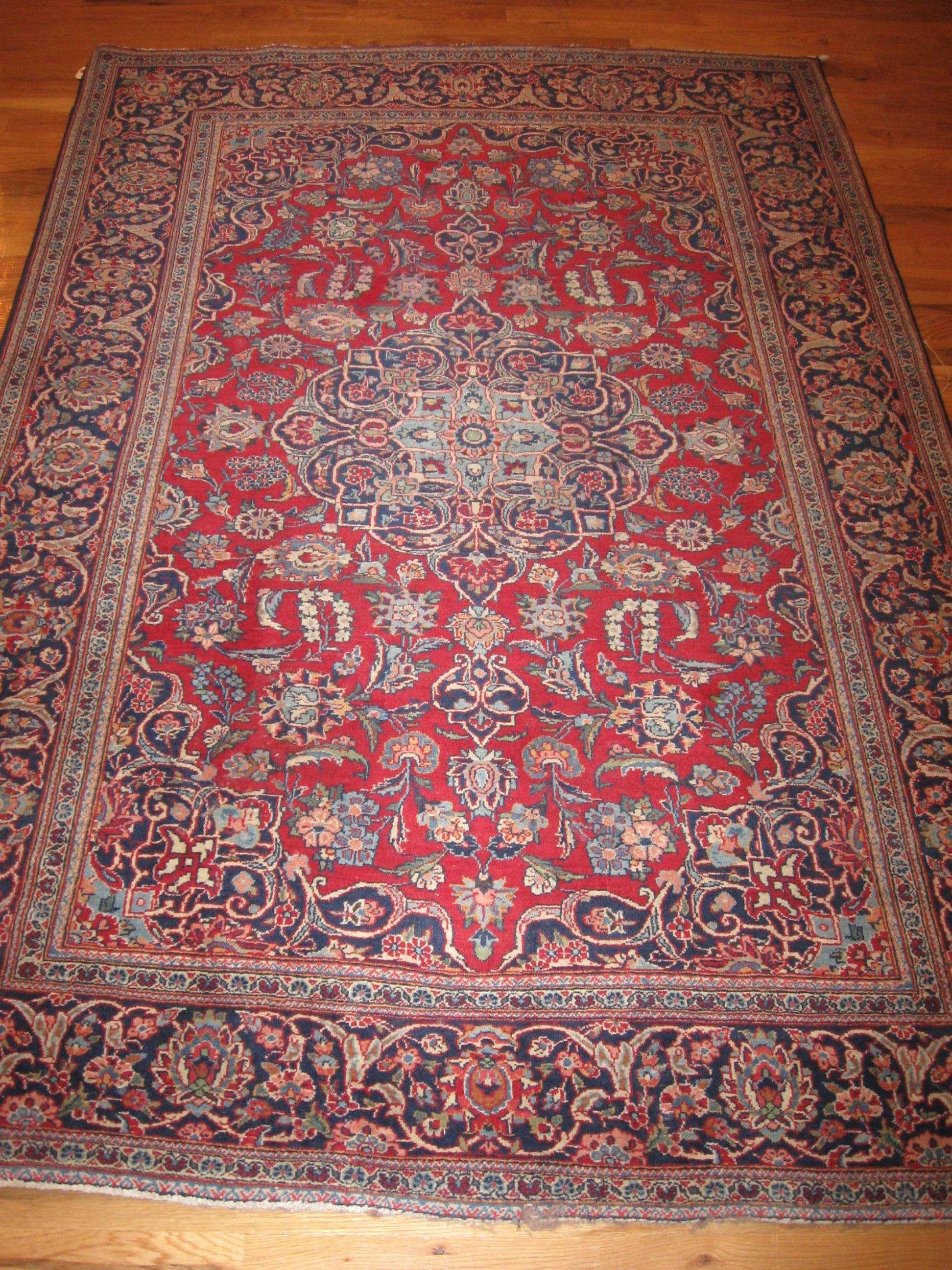 25054 Persian Kashan rug 4,2 x 6,7