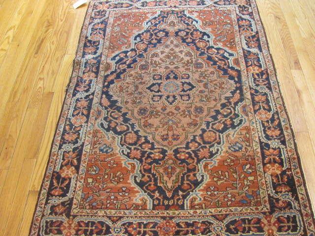 25079 Persian Josan rug 3,4x4,11