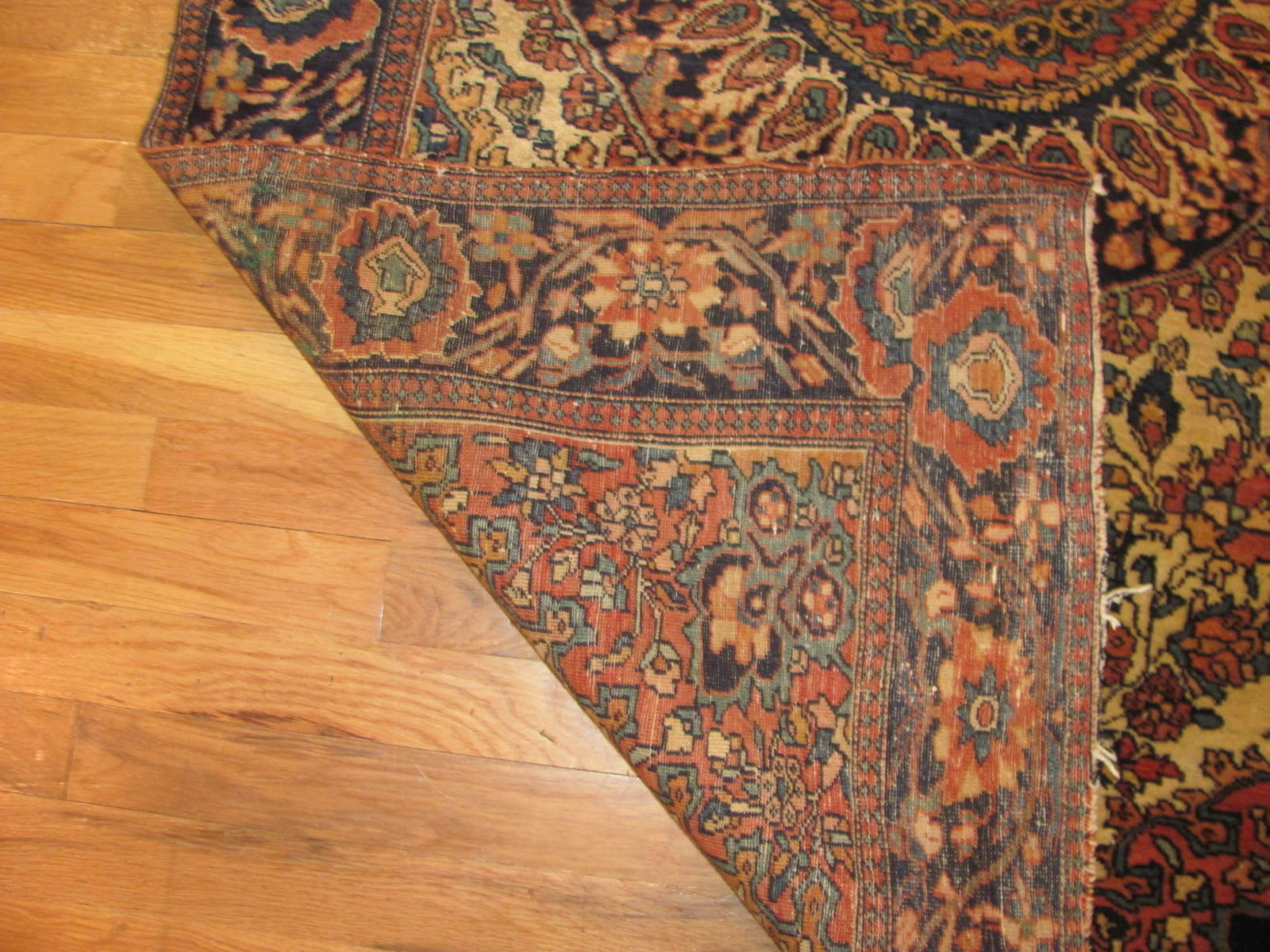 25092 antique persian fereghan rug 3,5x5,4-2