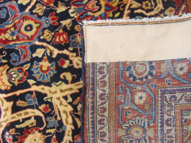 25101 antique persian kashan rug 4,1 x 6,5-3