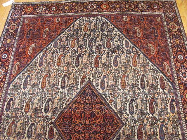 25103 antique persian sarouk fereghan 4,5 x 6,8-1