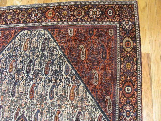 25103 antique persian sarouk fereghan 4,5 x 6,8-2