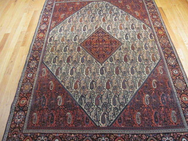 25103 antique persian sarouk fereghan 4,5 x 6,8