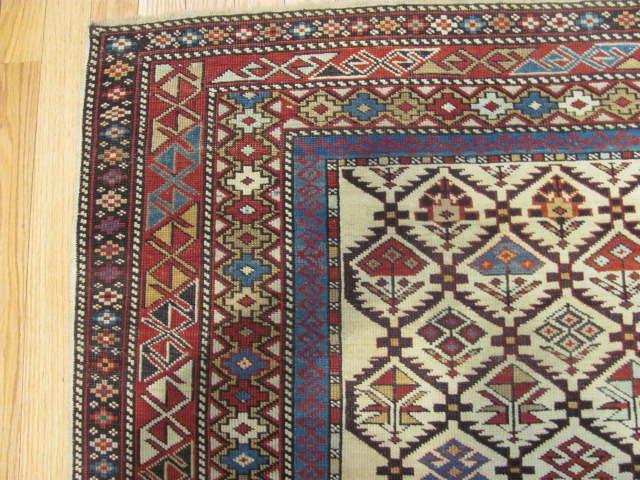 25105 antique caucasian shirvan rug 4,1 x 6,7-2