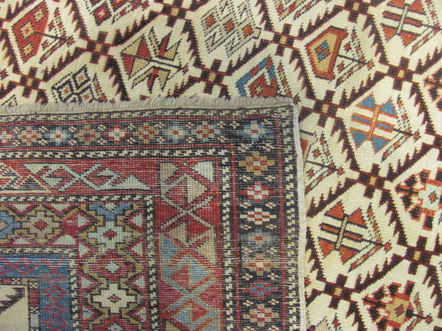 25105 antique caucasian shirvan rug 4,1 x 6,7-3