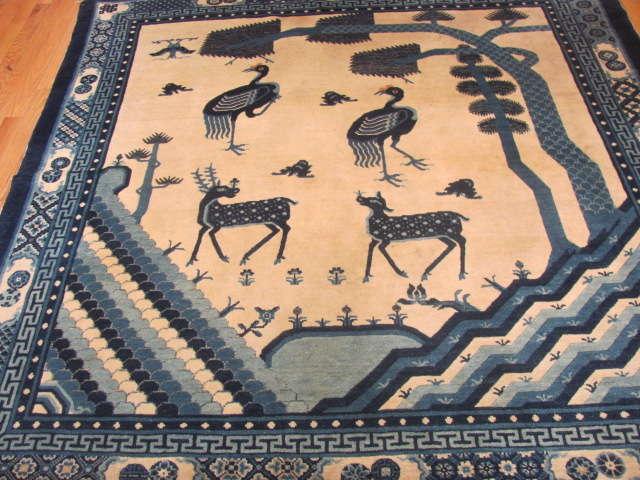 25112 Chinese rug 6 x 6-1