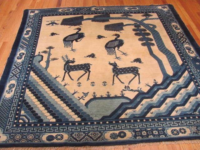 25112 Chinese rug 6 x 6