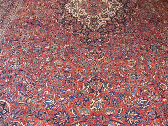 25114 Persian Kashan rug 10,3 x 16,3-1