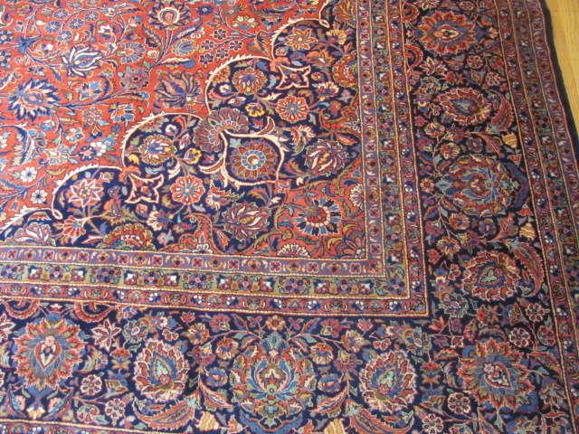 25114 Persian Kashan rug 10,3 x 16,3-2