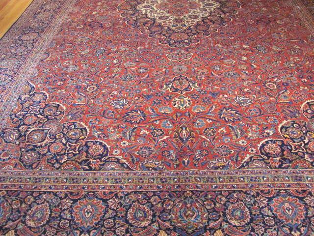 25114 Persian Kashan rug 10,3 x 16,3